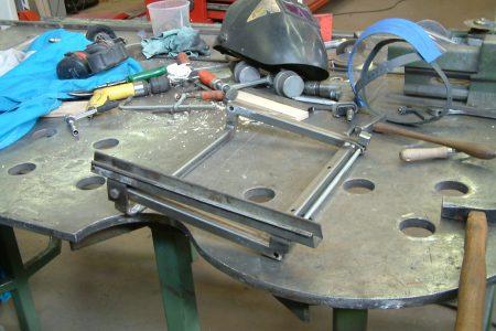 step 17.2 Foto2003_0827AF stoelframe vervangen